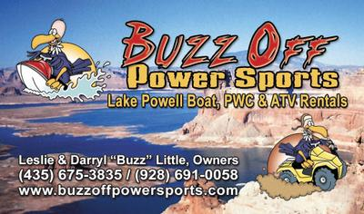 Buzz Off Power Sports Business Card