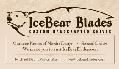Ice Bear Blades Business Card