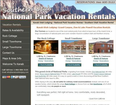 Kanab Vacation Rentals