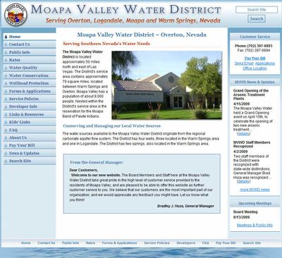 Moapa Valley Water District